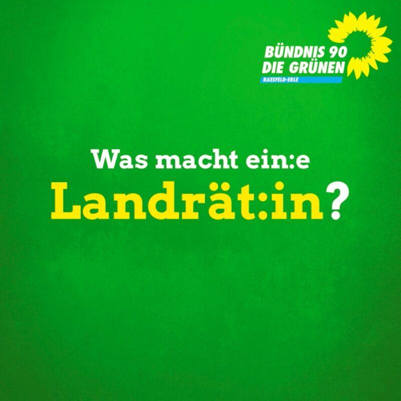 Was macht ein:e Landrät:in?
